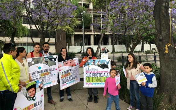 Incidentes viales, primera causa de muerte en niños de 5 a 14 años; sociedad civil exigimos ley para poner alto