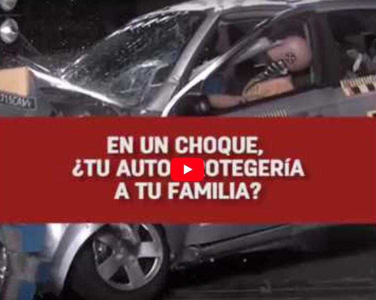 ¿Qué tan seguros son los autos en México?